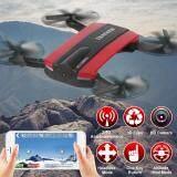 Drone Selfie ติดกล้องความละเอียดสูง Wifi โดรนเซลฟี่ พร้อมระบบถ่ายทอดสดแบบ Realtime New มีระบบ ล็อกความสูงได้ เป็นต้นฉบับ