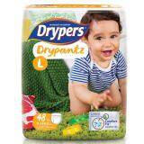 ขาย Drypers ผ้าอ้อมสำหรับเด็ก รุ่น Drypantz L 48 ชิ้น Drypers ออนไลน์