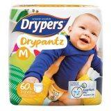 ขาย ขายยกลัง ผ้าอ้อมสำเร็จรูป Drypers Drypantz รุ่นเมกก้า ไซส์ M 3 X 60 ชิ้น ออนไลน์ ไทย
