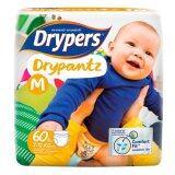 ซื้อ ขายยกลัง ผ้าอ้อมสำเร็จรูป Drypers Drypantz รุ่นเมกก้า ไซส์ M 3 X 60 ชิ้น ออนไลน์ ถูก