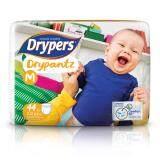 ทบทวน Drypers ผ้าอ้อมสำหรับเด็ก รุ่น Drypantz M 44 ชิ้น