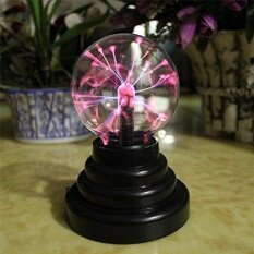 ราคา Dsstyles Plasma Ball Light Lightning Sphere Party Usb Operated Intl เป็นต้นฉบับ