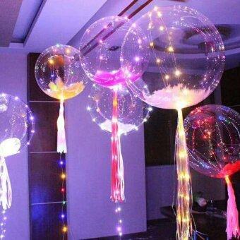 ชุดว่ายน้ำ 2 ชิ้น 12 นิ้วไฟ LED ตกแต่งบอลลูนโคมไฟส่องสว่างบอลลูนสำหรับเทศกาลคริสต์มาสตกแต่งงานแต่งงาน