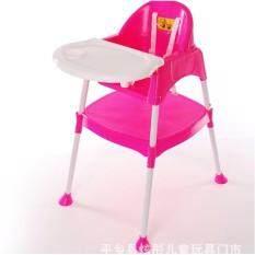 ราคา Eazy Shopee เก้าอี้เด็ก เก้าอี้นั่งทานข้าวเด็ก แบบ 3 In 1 ปรับแยกเป็นโต๊ะและเก้าอี้ได้ ปรับระดับความสูงเก้าอี้ได้ 2 ระดับ พร้อมเบารอง สีชมพู ราคาถูกที่สุด
