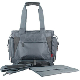 Ecosusi Diaper Bag กระเป๋าผ้าอ้อม (สีเทา)