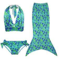 ซื้อ เด็กสาวน้อยน่ารักที่ 2559 Swimmable หางนางเงือกนางเงือกกำลังว่ายน้ำบิกินี่ชุดว่ายน้ำชุดว่ายน้ำเด็กชุดว่ายน้ำเด็กใส่ชุดว่ายน้ำทะเลสีเขียว ถูก สมุทรปราการ