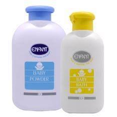 ขาย Enfant Baby Bath 200Ml And Enfant Baby Powder 300กรัม Thailand ถูก