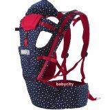 โปรโมชั่น เป้อุ้มเด็ก เป้สะพายเด็ก เป้อุ้มทารก เป้อุ้ม Baby Carrier รุ่นขายดี สีแดง น้ำเงิน ลายดาว