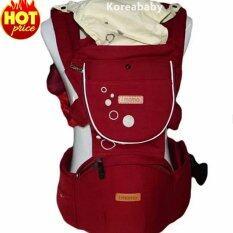 เป้อุ้มเด็ก เป้สะพายเด็ก เป้อุ้มทารก เป้อุ้ม Baby Carrier รุ่นขายดี สีแดงเข้ม