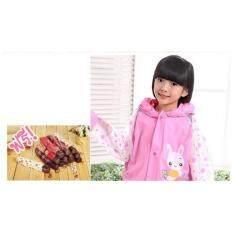 ขาย เสื้อกันฝน Pink Rabbit ลายกระต่าย สีชมพู ไซต์ Xl ผู้ค้าส่ง