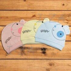 ขาย Etc หมวกเด็กทารก หมวกเด็กแรกเกิด สำหรับเด็กแรกเกิด 6เดือน คละสี จำนวน 3 ใบ ผู้ค้าส่ง