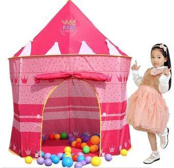 เต้นท์ปราสาทเจ้าหญิงสีชมพูPrincess Tent