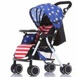 ขาย Exceed Baby Stroller Wisesonle รถเข็นเด็ก ปรับนอนราบได้ พกสะดวก พร้อมแผ่นซัพพอร์ต Usa Flag น้ำหนักเบา 4 8Kg Bst002 ถูก ใน กรุงเทพมหานคร