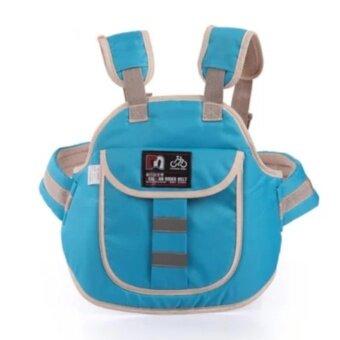 EXCEED Safety Carrier for Kids ( BLUE ) สายรัดนิรภัยกันเด็กตกรถมอเตอร์ไซต์ สำหรับเด็กอายุ 3 - 10 ปี แบบกระเป๋าเป้สะพายหลัง สำหรับขับขี่มอเตอร์ไซต์ ( สีฟ้า )