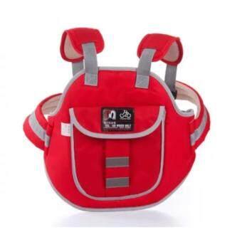 EXCEED Safety Carrier for Kids ( RED ) สายรัดนิรภัยกันเด็กตกรถมอเตอร์ไซต์ สำหรับเด็กอายุ 3 - 10 ปี แบบกระเป๋าเป้สะพายหลัง สำหรับขับขี่มอเตอร์ไซต์ ( สีแดง )