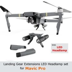 ขาย Extended Landing Gear Extension Protector Led Headlamp Set F Dji Mavic Pro Pgy Intl Thailand