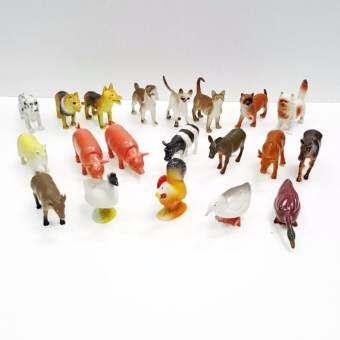 Farm Animal รวมสัตว์ฟาร์ม สัตว์เลี้ยง 20 ตัว ไก่ วัว แมว สุนัข หมู ม้า-