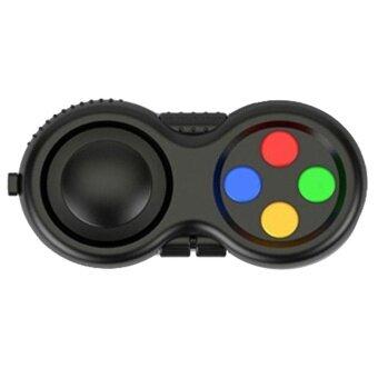 Fidget Pad Fidget Hand Shank Pad Handle For Autism ADHD Relieves Stress Focus Desk Toys -Multi-Color - intl