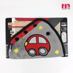 FIN BABIESPLUS ปลอกหุ้มเข็มขัดนิรภัยรถยนต์สำหรับเด็ก เกรดA ผ้านุ่มพิเศษ ไม่บาดผิว รุ่น USE-BLY01