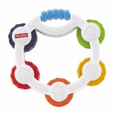 Fisher-Price® Newborn Mirror Tamborine By Sabuy Online.
