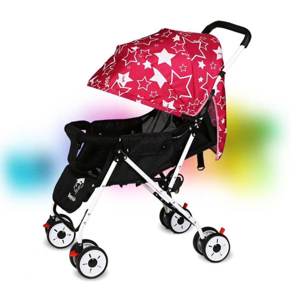 ลดแบบขาดทุน Wisesonle รถเข็นเด็กแบบนอน EXCEED รถเข็นเด็กปรับนอน 180 แรกเกิด Baby Stroller Wisesonle 0-36เดือน มีสปริงรับแรงกระแทรก 2 จุดหลัก BST001 รีวิวดีที่สุด อันดับ1