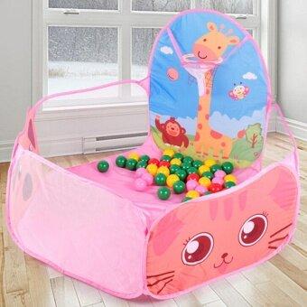 พับได้ตลก Ocean Ball PIT Pool เต็นท์เด็กเล่นชุดของเล่น