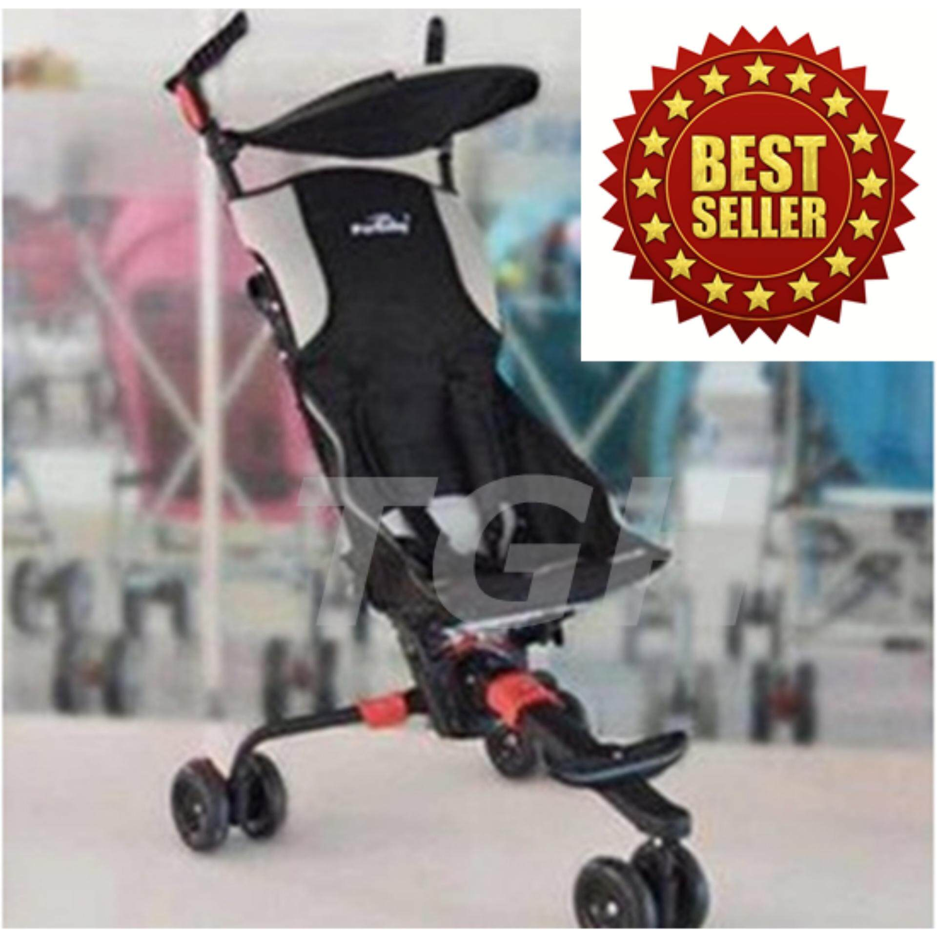 โปรโมชั่นลดราคา Exceed รถเข็นเด็กแบบนอน EXCEED รถเข็นเด็ก Baby Stroller เข็นหน้า-หลังได้ ปรับได้ 3 ระดับ รุ่น-808Q ( BST003 ) ลดล้างสต๊อก