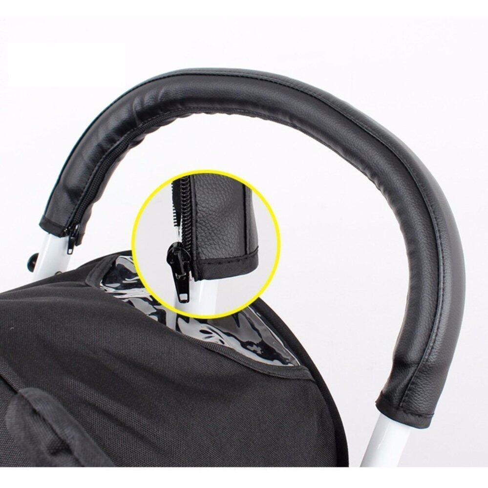 ลดสมมนาคุณลูกค้า FIN BABIESPLUS รถเข็นเด็กแบบนอน Fin Babiesplus รถเข็นเด็กแบบพกพา Travelling Stroller ปรับนอนได้ พับเก็บมีล้อลาก รุ่น CAR-Z1 มีของแถม ส่งฟรี