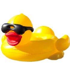 ขาย Giant Yellow Duck Inflatable Poolfloat ห่วงยางเป็ดเหลืองยักษ์ ขนาดใหญ่ ใหม่
