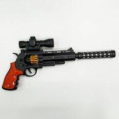 ราคา Gun For Children ปืนลูกโม่เด็กเล่น ปืนมีไฟ ออนไลน์