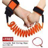 ซื้อ Haotom Kid Keeper Baby Walkers Wrestling Belt Infant Wrist Safety Harnesses For Children Elastic Handle Anti Lost Belt New Year Gift Orange ใหม่