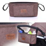 ซื้อ Haotom Universal Baby Stroller Bag Organizer Baby Car Hanging Basket Storage Stroller Accessories Coffee ออนไลน์ ถูก