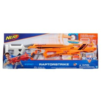 HASBRO NERF ACCUSTRIKE RAPTORSTIKE ฮาสโบร ปืนเนิร์ฟ แอคคูสไตรค์ ปืนแรปเตอร์สไตรค์ ลิขสิทธิ์แท้