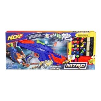 HASBRO NERF NITRO MOTOFURY RAPID RALLY ฮาสโบร ปืนเนิร์ฟ ไนโตร โมโตฟิวรี ราพิด แรลลี่ ปืนยิงรถแข่ง ลิขสิทธิ์แท้