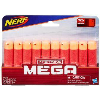 HASBRO NERF NSTRIKE ELITE MEGA 10 DART REFILL ฮาสโบร ปืนเนิร์ฟ เอ็นสไตรค์ เมก้า รีฟิลลูกดอกดาร์ทเมก้า 10 ชิ้น