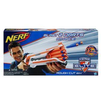 HASBRO NERF NSTRIKE ELITE ROUGH CUT 2X4 ฮาสโบร ปืนเนิร์ฟ เอ็นสไตรค์ อีลิท รัฟ คัท 2X4