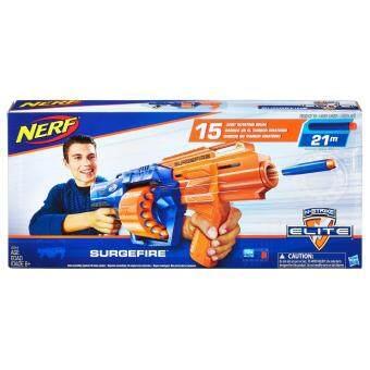 HASBRO NERF NSTRIKE SURGEFIRE ฮาสโบร เนิร์ฟ เอ็นสไตรค์ เซิร์จไฟร์ ปืนเนิร์ฟ ลิขสิทธิ์แท้
