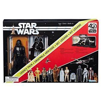 HASBRO STAR WARS THE BLACK SERIES 40TH ANNIVERSARY LEGACY PACK ฮาสโบร สตาร์วอร์ส เลกาซี่แพ็ค หุ่นดาร์ธ เวเดอร์ รุ่นครบรอบ 40 ปี ลิขสิทธิ์แท้