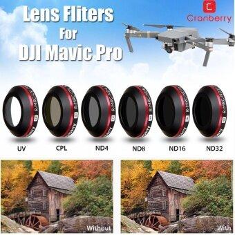 กล้องตัวกรองเลนส์ ND4 8 16 32 รังสียูวี CPL สำหรับ DJI Mavic Drone-นานาชาติ