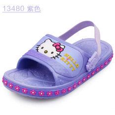 ซื้อ Hello Kitty รองเท้าแตะรองเท้าด้านล่างนุ่มรองเท้าแตะเด็กลื่นทารก ออนไลน์ ฮ่องกง