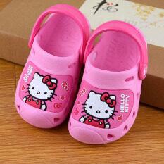 ขาย Hello Kitty รองเท้าบ้านสาวรองเท้าแตะฤดูร้อน Hellokitty ผู้ค้าส่ง