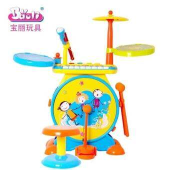 Hellomom กล้องส้ม 2 in 1  (กลอง+ เปีนโน) Drum and Piano-