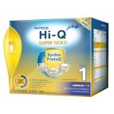 Hi Q ไฮคิว นมผง ซูเปอร์โกลด์ 1 Synbio Proteq รสจืด 2400 กรัม ใน กรุงเทพมหานคร