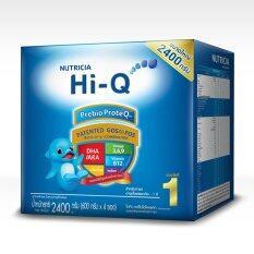 ขาย Hi Q Prebio Proteq 2400G ไฮคิว พรีไบโอโพรเทก ช่วงวัยที่ 1 2400 กรัม สำหลับทารก อายุตั้งแต่แรกเกิด 1ปี Hiq ถูก