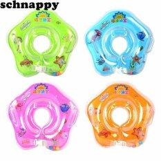 โปรโมชั่น High Quality Baby Swimming Neck Float Ring Safety Infant Neck Float Circle Random Intl