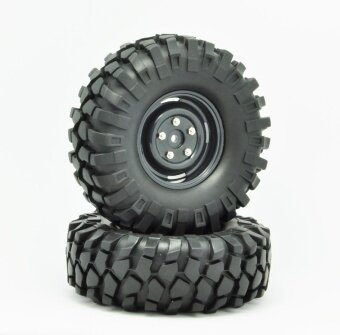 HOBBY MASTER 1/10 108mm Tires For RC Crawler Car HC12001 - intl