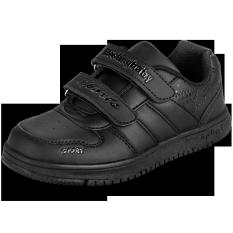 ราคา ราคาถูกที่สุด Hostingbaby เกาหลีสีดำนักเรียนรองเท้ารองเท้าเด็ก