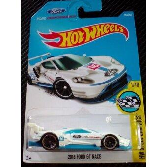 รถ Hot Wheels Ford GT Race 2016