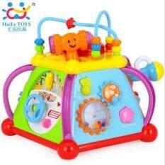 Huile Toys กล่องกิจกรรม 6 ด้าน.