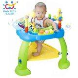 โปรโมชั่น Huile Toys เก้าอี้กระโดด Multi Functional Baby Jumping Chair สีฟ้า ถูก